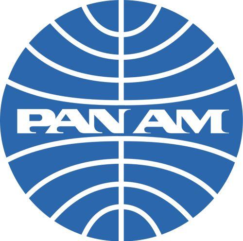 Old PAN AM logo.