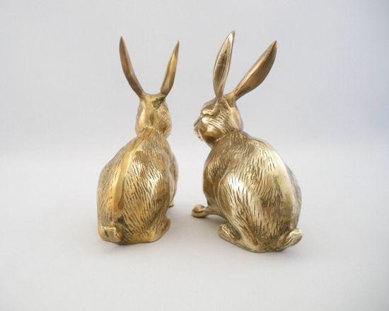 brass rabbits