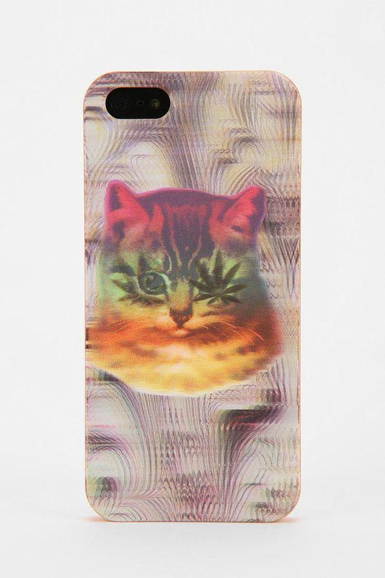 Hologram Cat iPhone 5 Case #urbanoutfitters