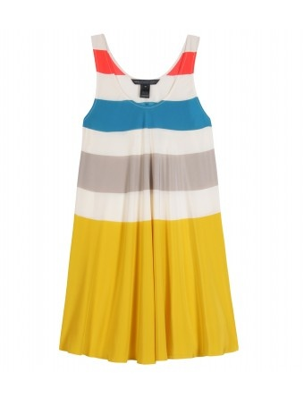 Yes, please. Marc by Marc Jacobs color block mini dress