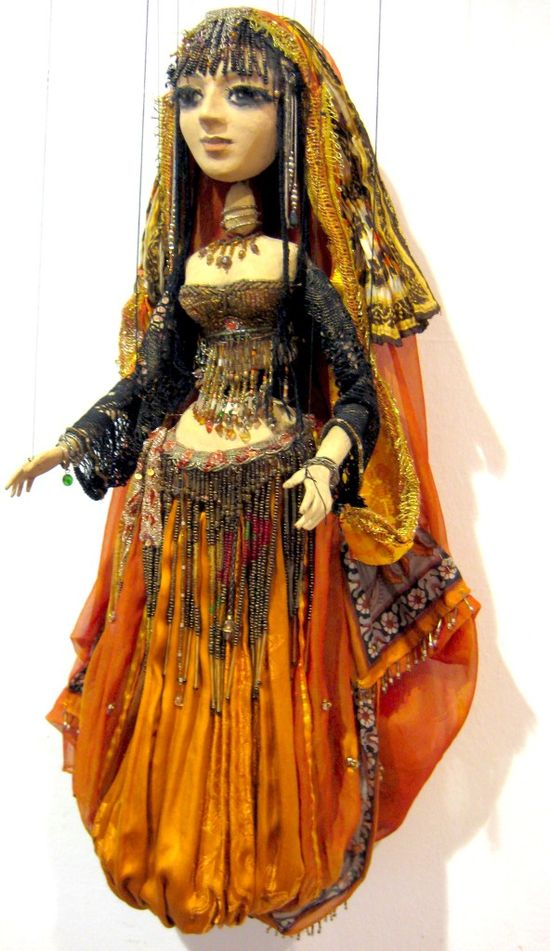 belly dancing doll