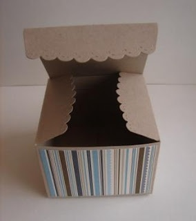 scallop envelope die box