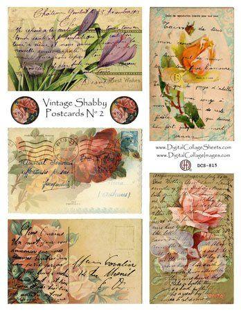free collage sheet