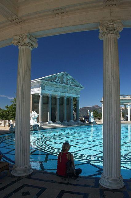 Neptune Pool, Hearst Castle, San Simeon, California