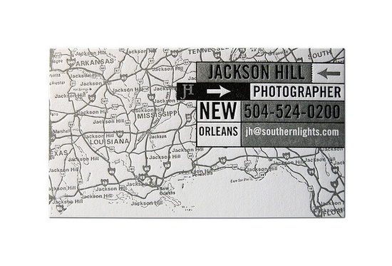 Jackson Hill Photographer Business Card by Cranky Pressman
