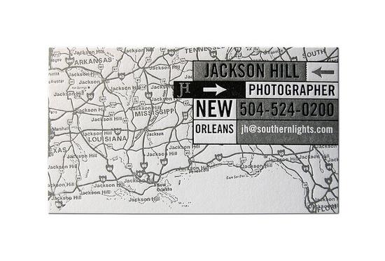Jackson Hill Photographer Business Card by Cranky Pressman
