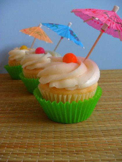 Tropical Cupcakes