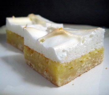 #Lemon Meringue Bars