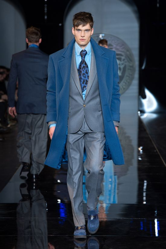 #Coat#Suit - Versace Men's Fall Winter 2013