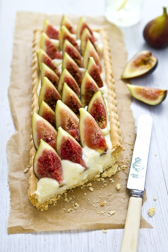 My love for a fig Tart