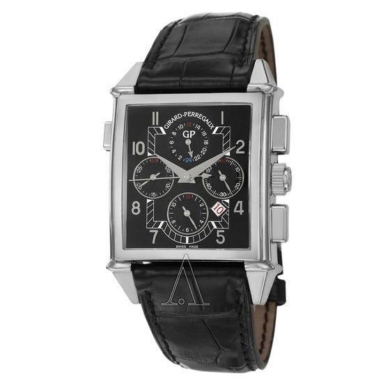 Girard-Perregaux Vintage 1945 Chronograph GMT Watch 25975-0-53-6056