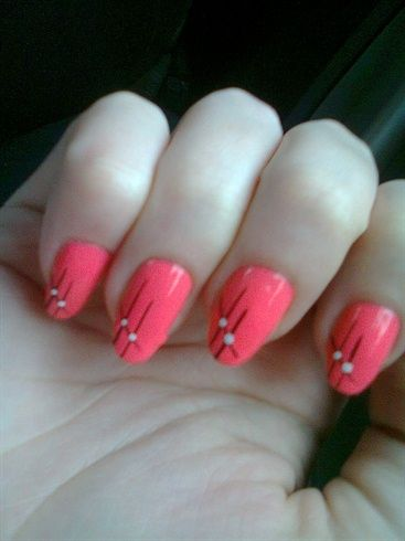 pink nails - Nail Art Gallery by NAILS Magazine