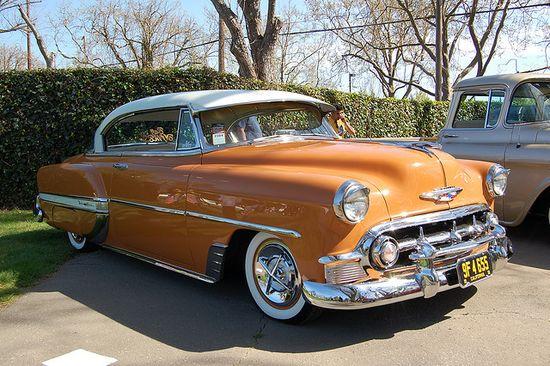 1953 Chevrolet Bel Air. When cars were cars