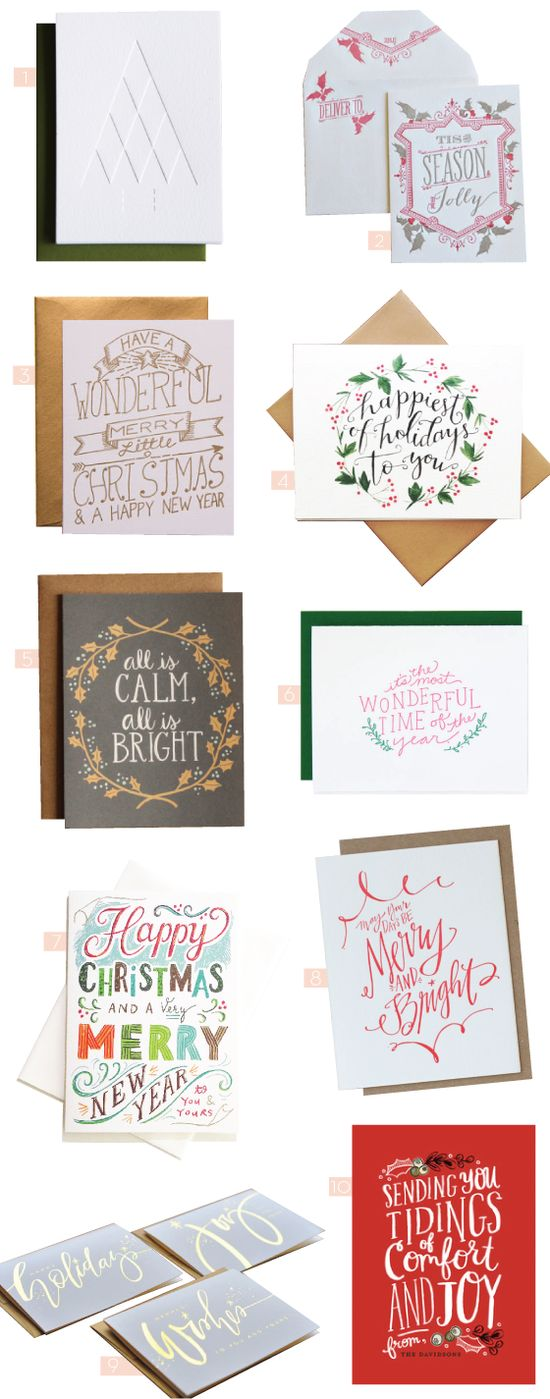 HOLIDAY CARDS – PART 3