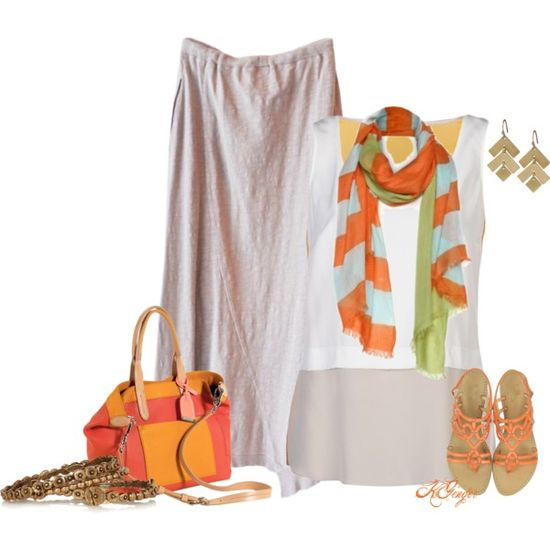 """Color Block Summer Contest"" by kginger on Polyvore"