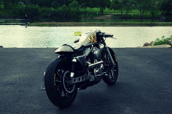 Harley Davidson Sportster Café Racer
