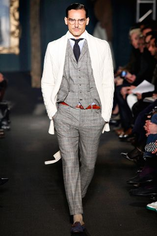 Michael Bastian.  Fall  2012