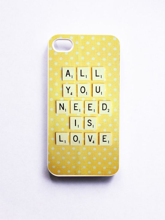 iPhone Case. All You Need is Love :)