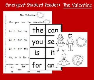 Free!! Valentine emergent reader & cards!!!