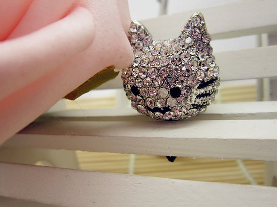 Cat iPhone dust plug $9