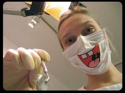 Funny dental mask