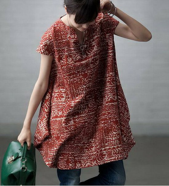 Linen dress.????