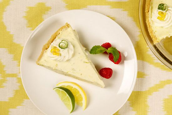 Lemon Lime Refrigerator Cheesecake- Perfect Dessert for Mexican Dinner!