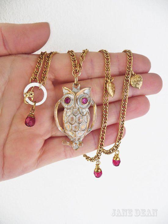 owl jewelry = ?