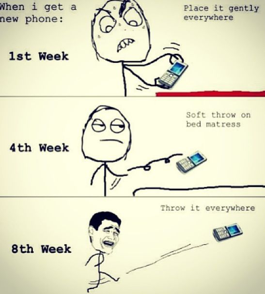 New phone.