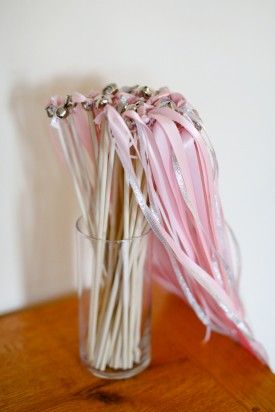 Wedding Exit Ribbon Wands