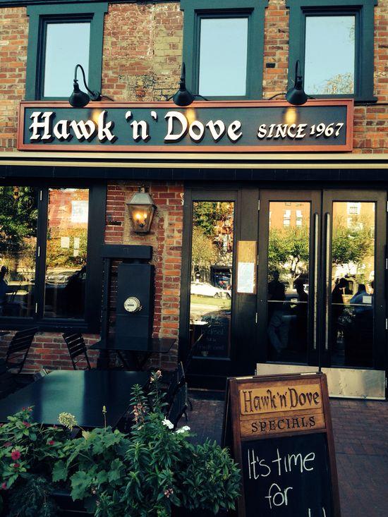 Hawk 'n Dove...great food!