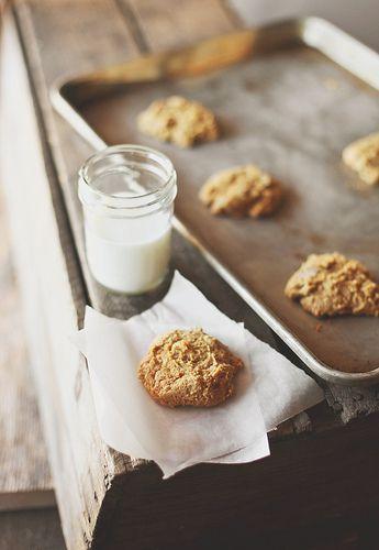 Pumpkin spice cookies.
