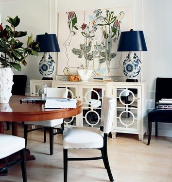 buffet love in this dining room...