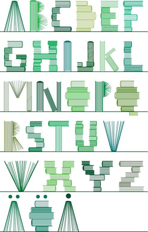 Book alphabet!