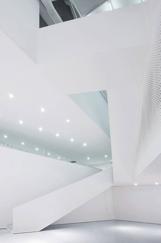 Interior aspect of the Yue Art Gallery by Tao Lei Architect Studio ?k? #architecture