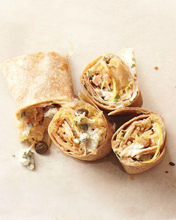 Tuna and Quinoa Wrap