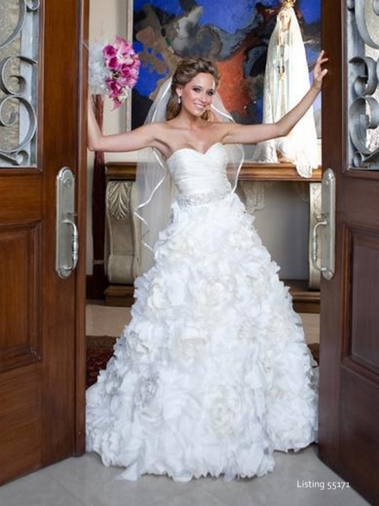 Rustic wedding dresses from rusticweddingchic...