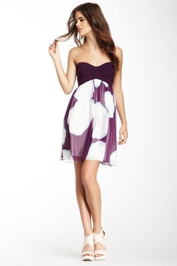 Asti Silk Short Party Dress by DVF