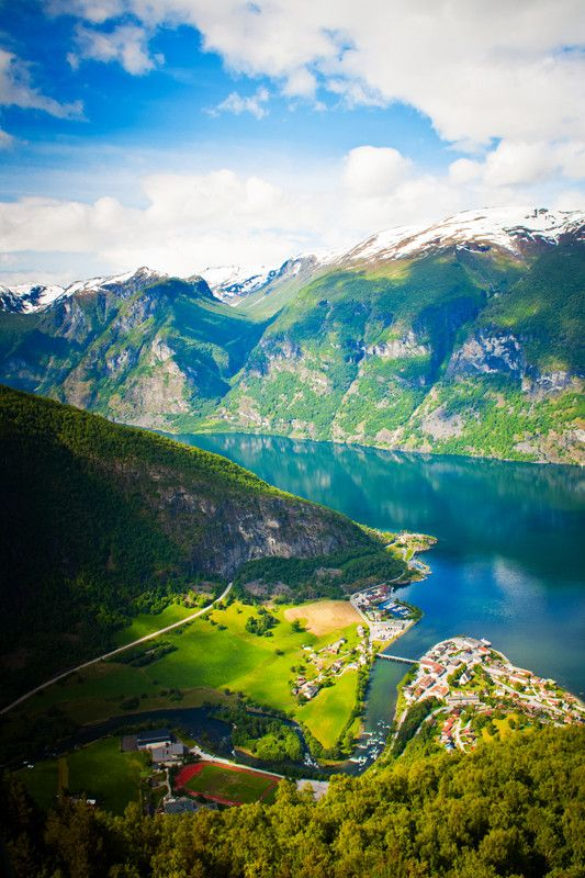 Aurland, Norway A place to visit when we're older... Josh's family comes from Norway. :)