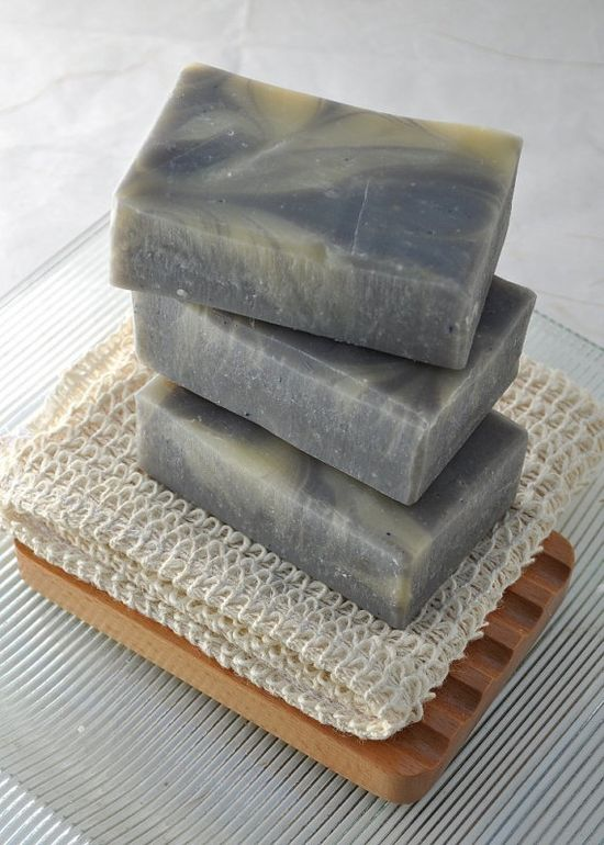 Organic, handmade soaps are great for the skin.