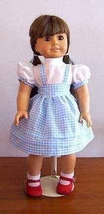 Dorothy outfit for American Girl dolls!!