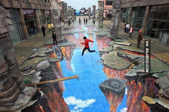 amazing 3d street art Most amazing pictures (19 Pics)