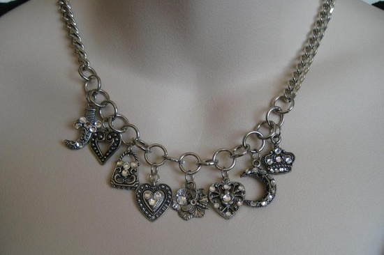$20 - Handmade Charms Necklace.