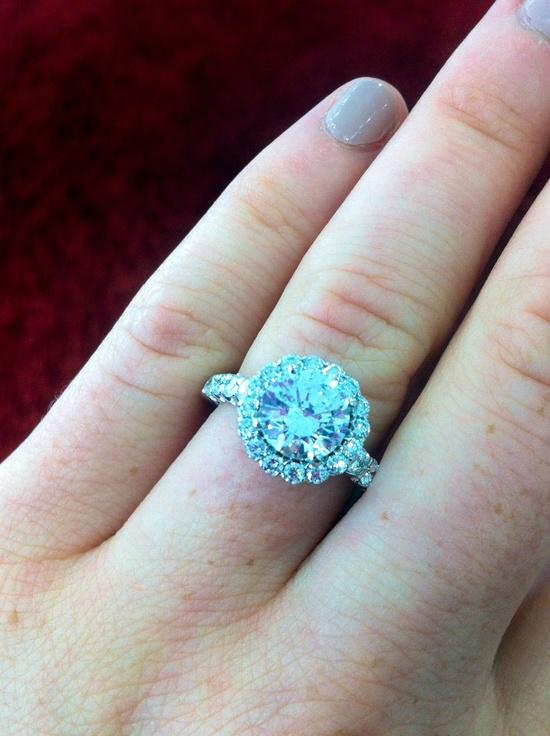 Ritani Masterwork Shared-Prong Diamond Engagement Ring