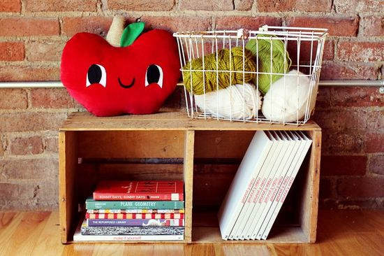 DIY Apple Plush Pillow with Download