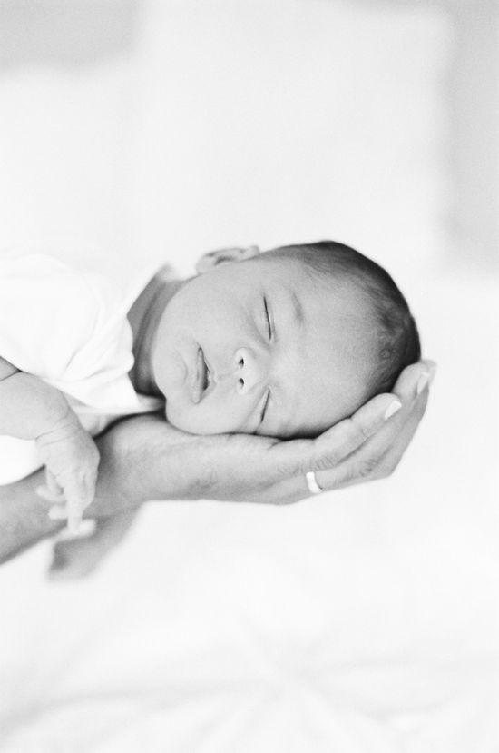 An Adorable Newborn Photoshoot / Photography By / whiteloftstudio.com/