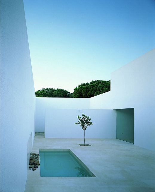 The Gaspar House by Estudio Campo Baeza. One of my favorite courtyards in contemporary architecture.