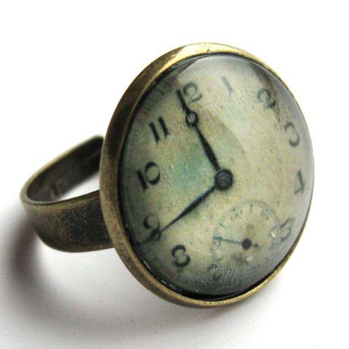 Watch Ring...vintage look