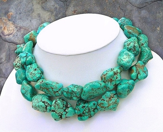Love me some turquoise jewelry!