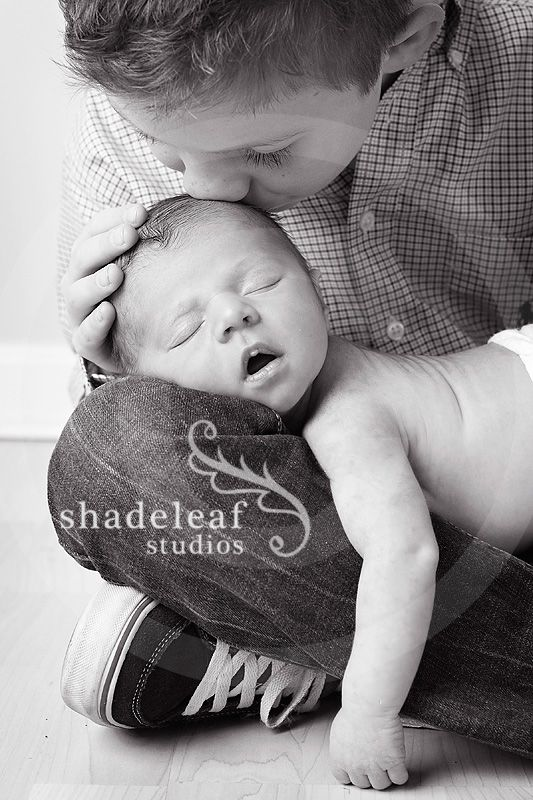 Newborn And Two Sibling Photography